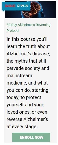 30-Day Alzheimer's Reversing Protocol